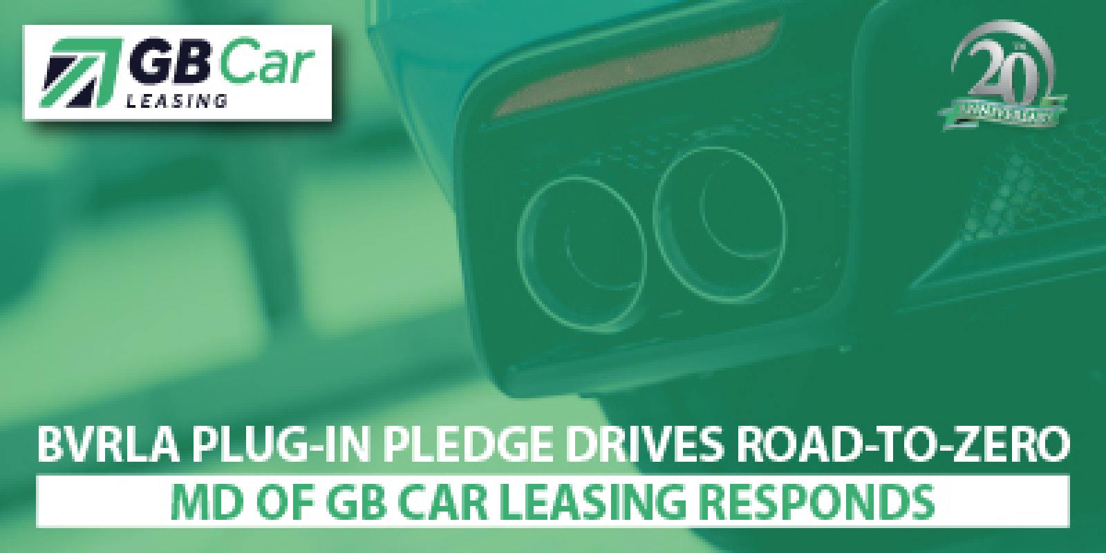 BVRLA Plug-in-Pledge drives Road-to-Zero