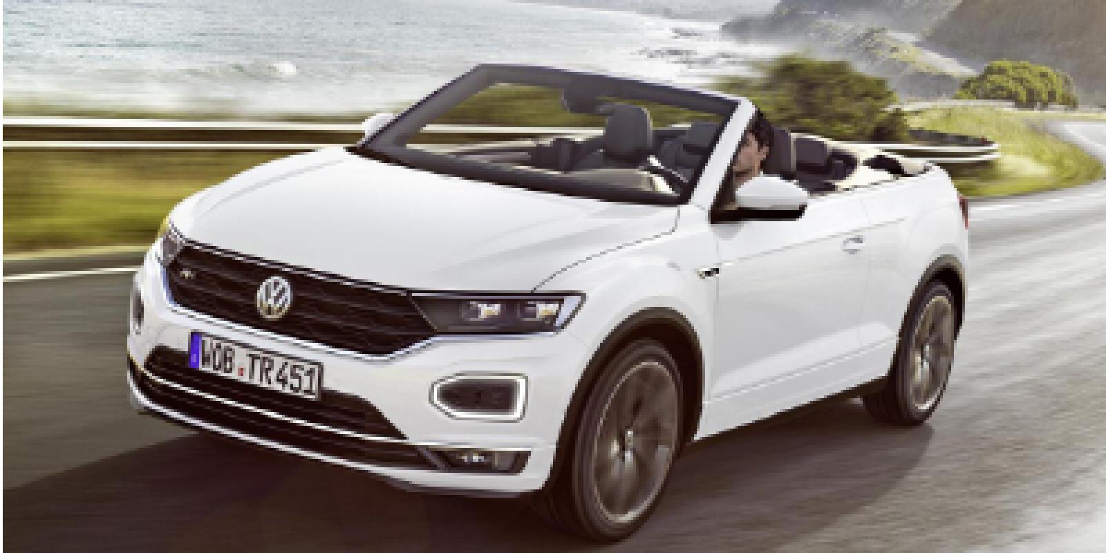 VW unveils T-Roc Cabriolet