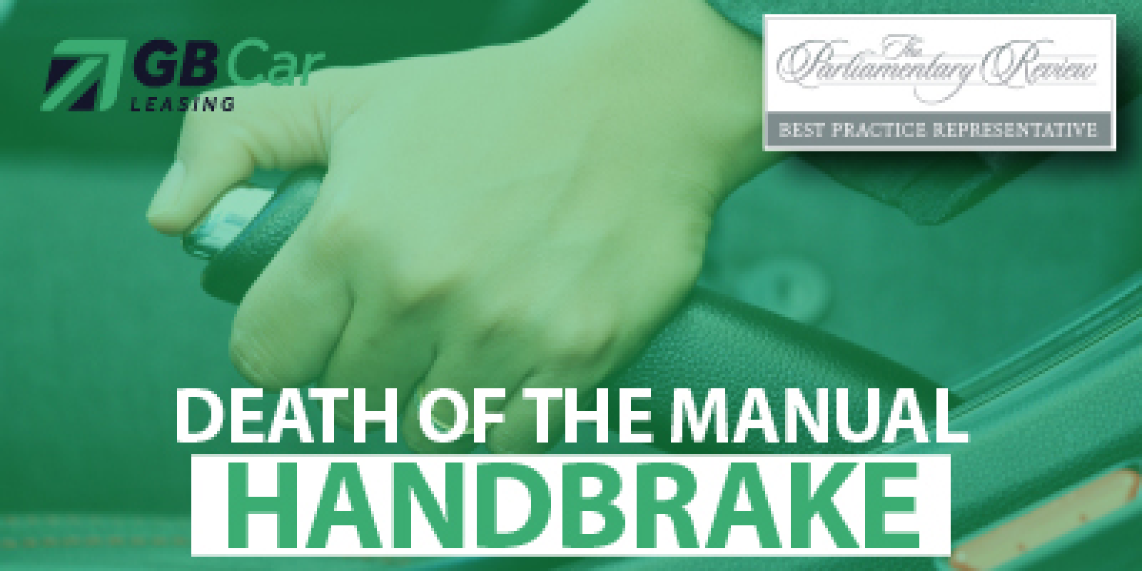 Death of the manual handbrake: 30 per cent of new cars have manual handbrake