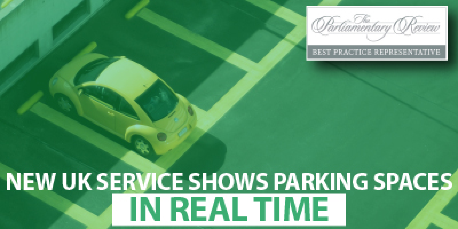 New service shows location of empty spots in real time