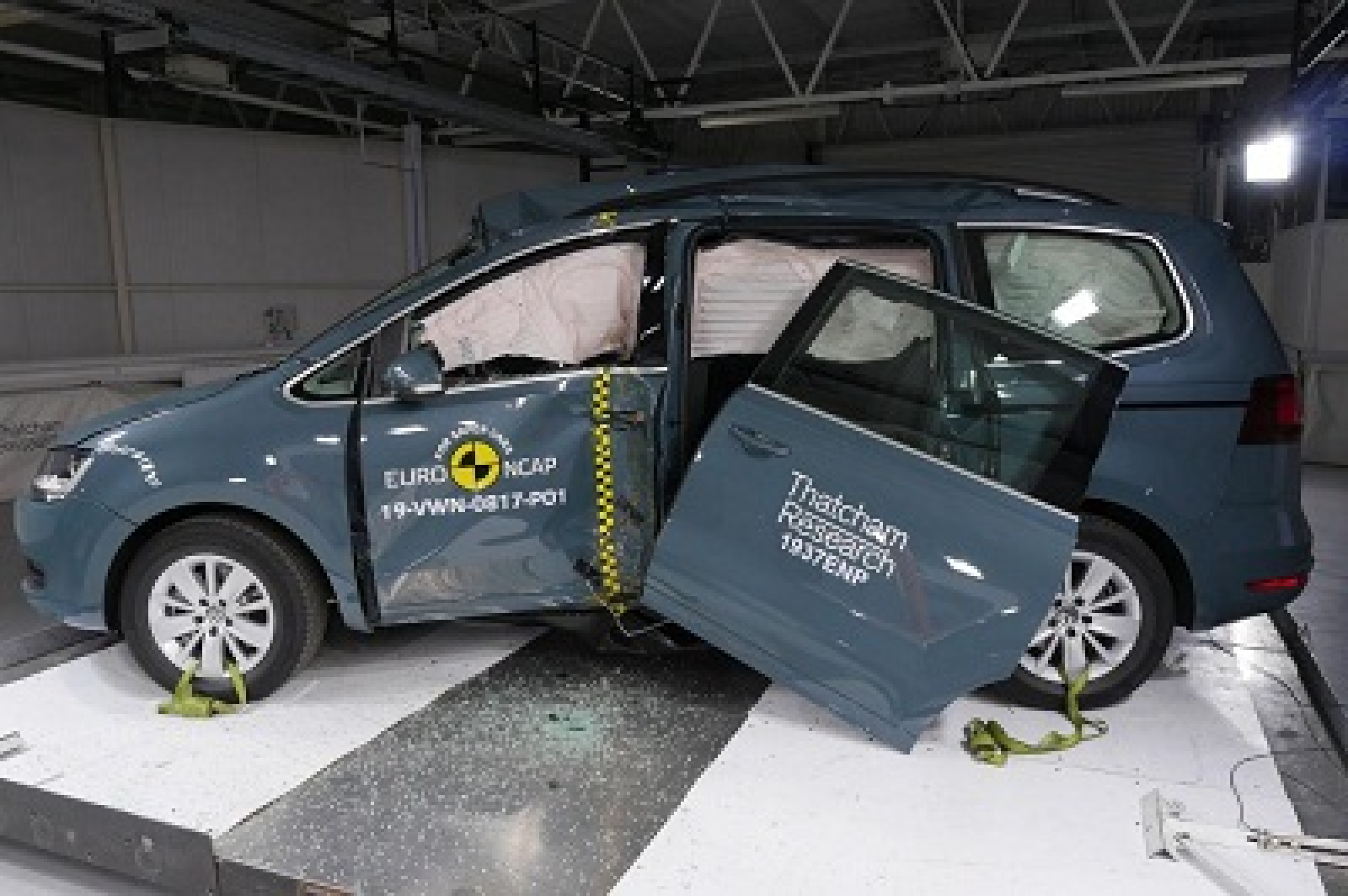 Volkswagen Sharan NCAP suprise