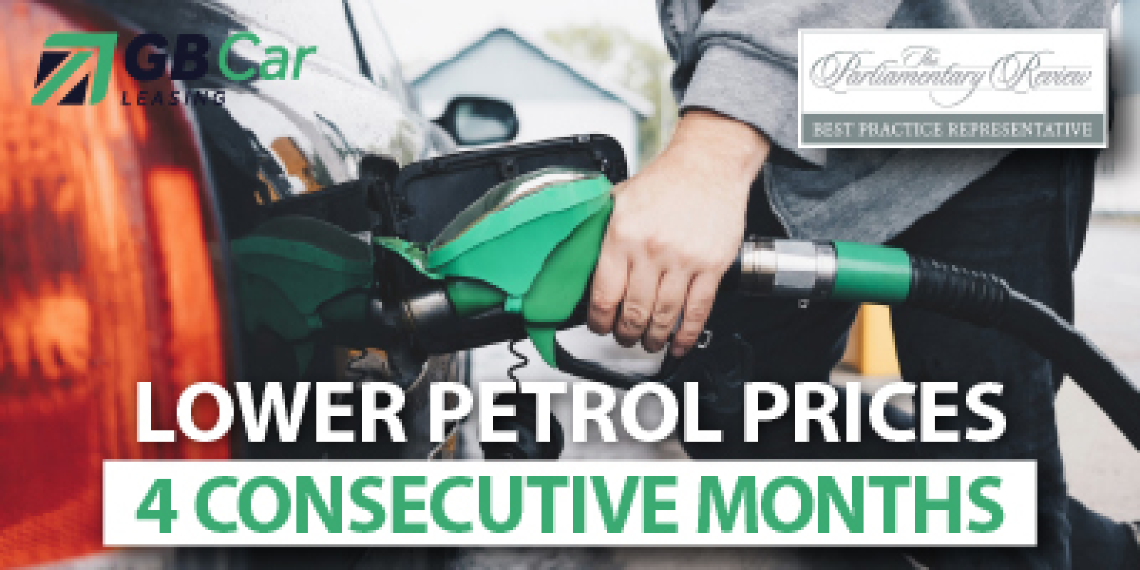 Four months of lower petrol prices